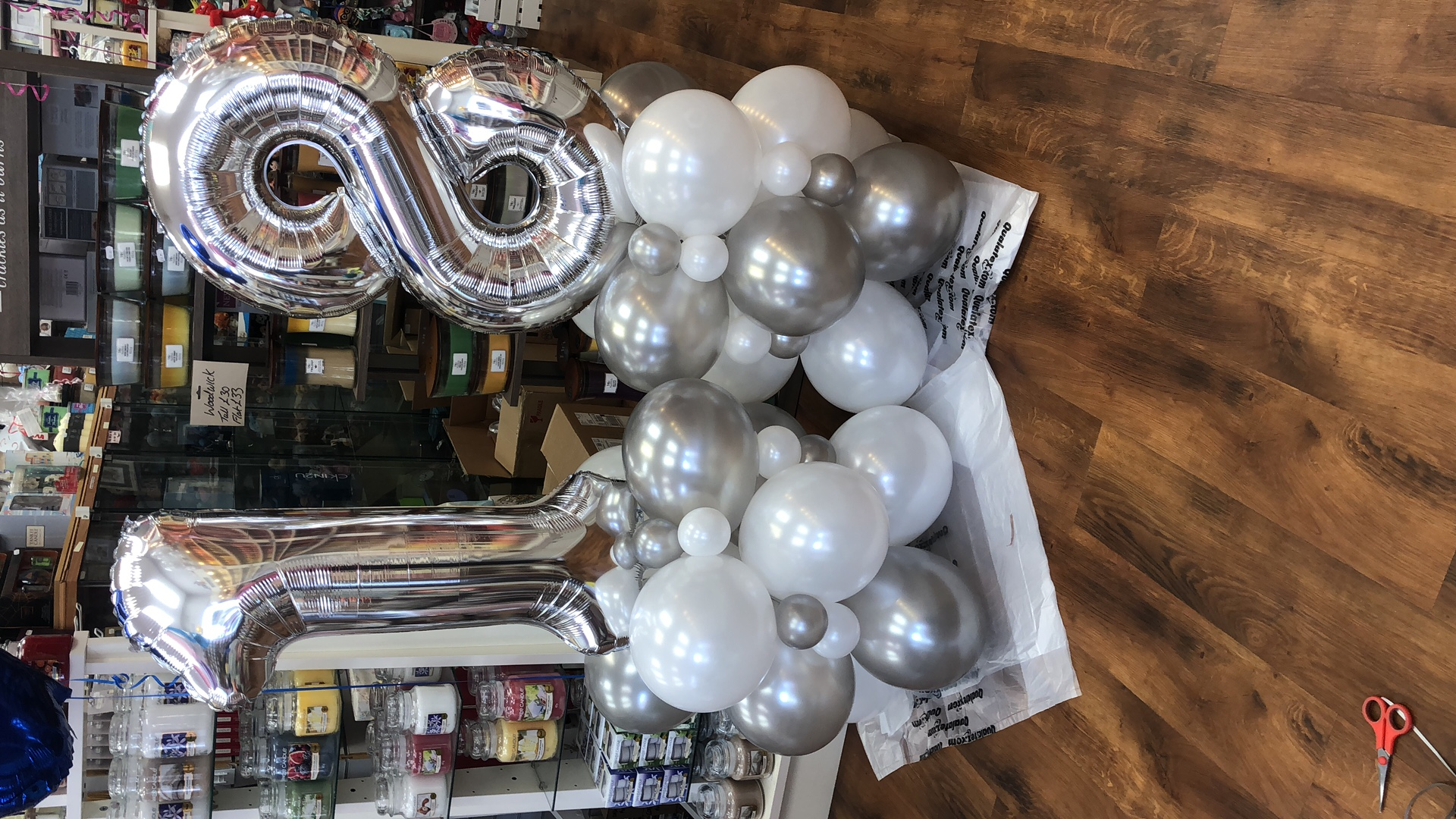 Balloon Towers Personalised to your needs
